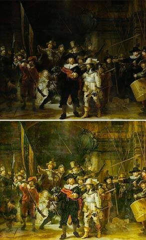 Ronda di notte di Rembrandt van Rijn