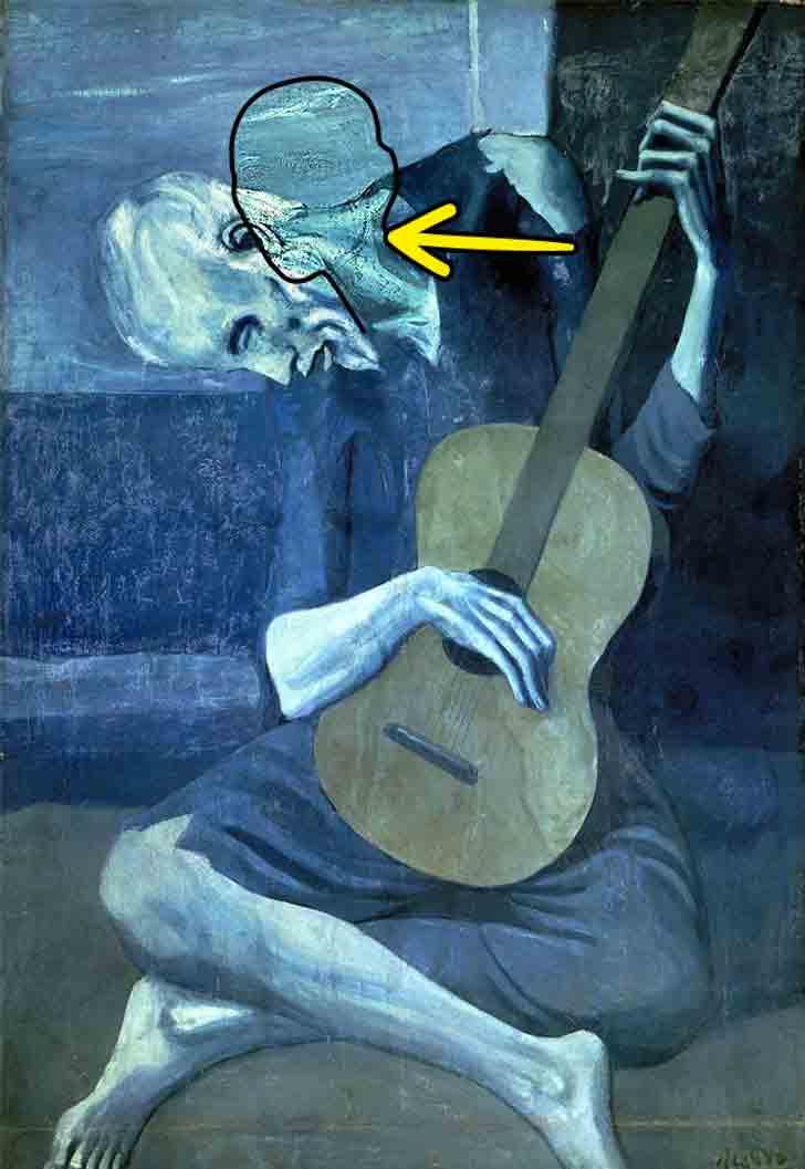 Il vecchio chitarrista cieco, Pablo Picasso