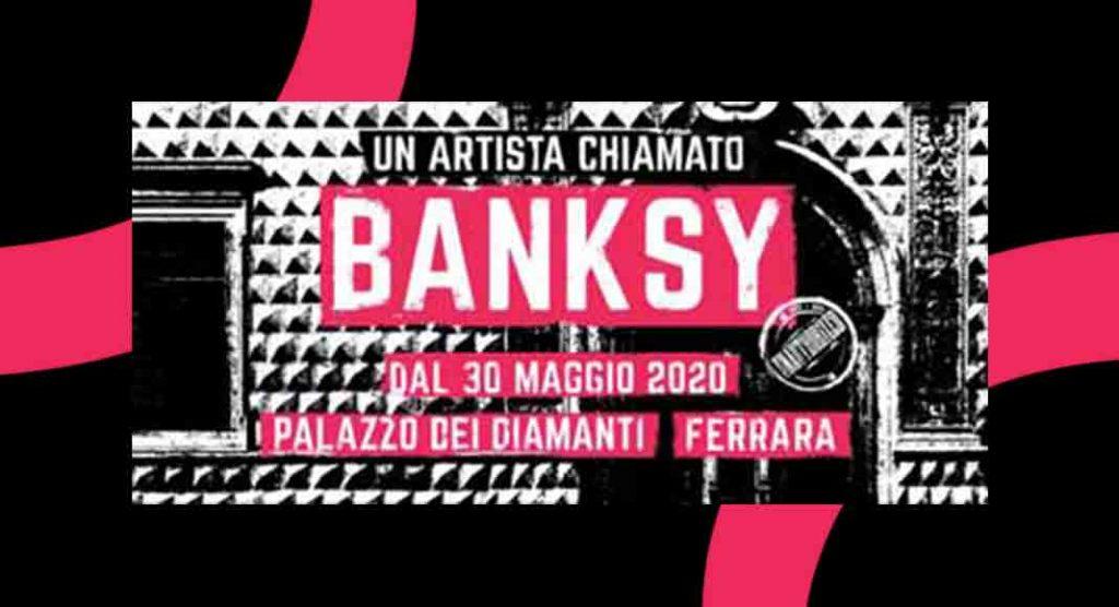 """""""Un artista chiamato Banksy"""", oltre 100 opere in mostra a Ferrara"""