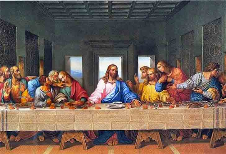 L'ultima cena, Leonardo Da Vinci