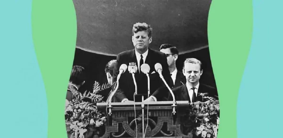 """""""Ich bin ein Berliner"""", il memorabile discorso di J.F. Kennedy sulla libertà"""