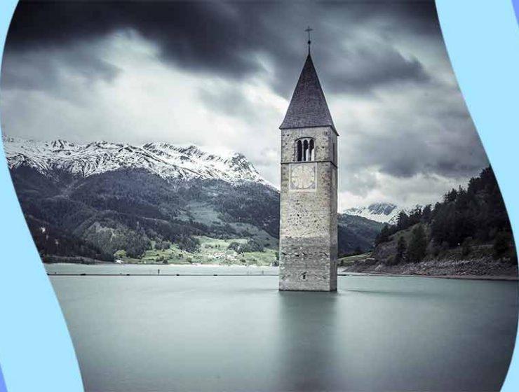 Curon, storia e la leggenda del campanile sommerso