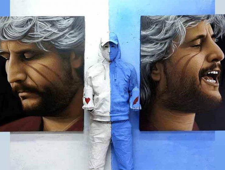 Pino Daniele, un murales alla stazione di Napoli accoglierà i turisti