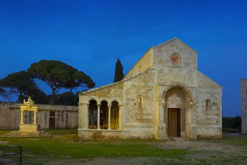 Abbazia di Santa Maria di Cerrate Lecce Foto Dario Fusaro 2019 C FAI Fondo Ambiente Italiano