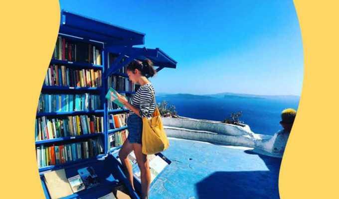 librerie sulla spiaggia