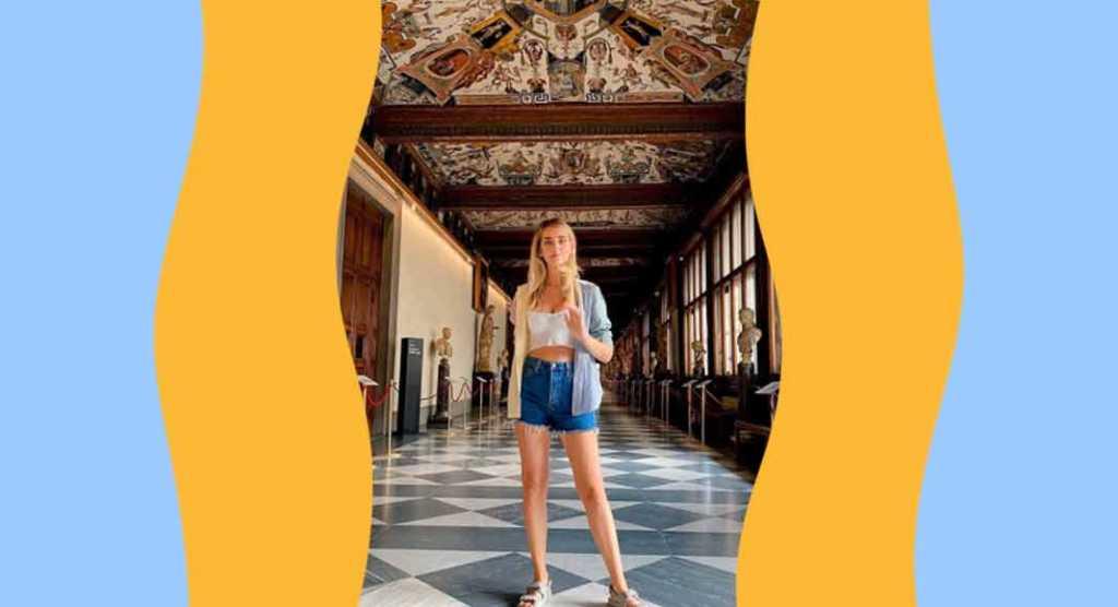 Uffizi, tour notturno di Chiara Ferragni con il direttore Eike Schmidt