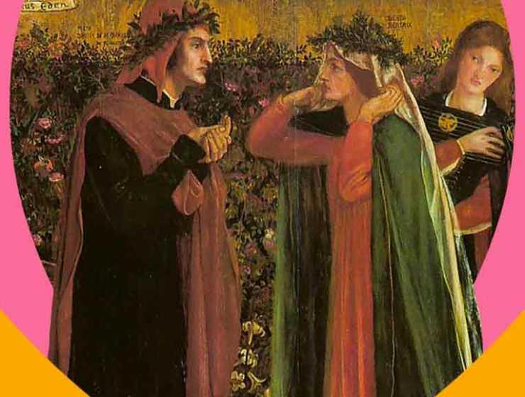 """""""Tanto gentile e tanto onesta pare"""" di Dante Alighieri e il concetto di amore puro"""