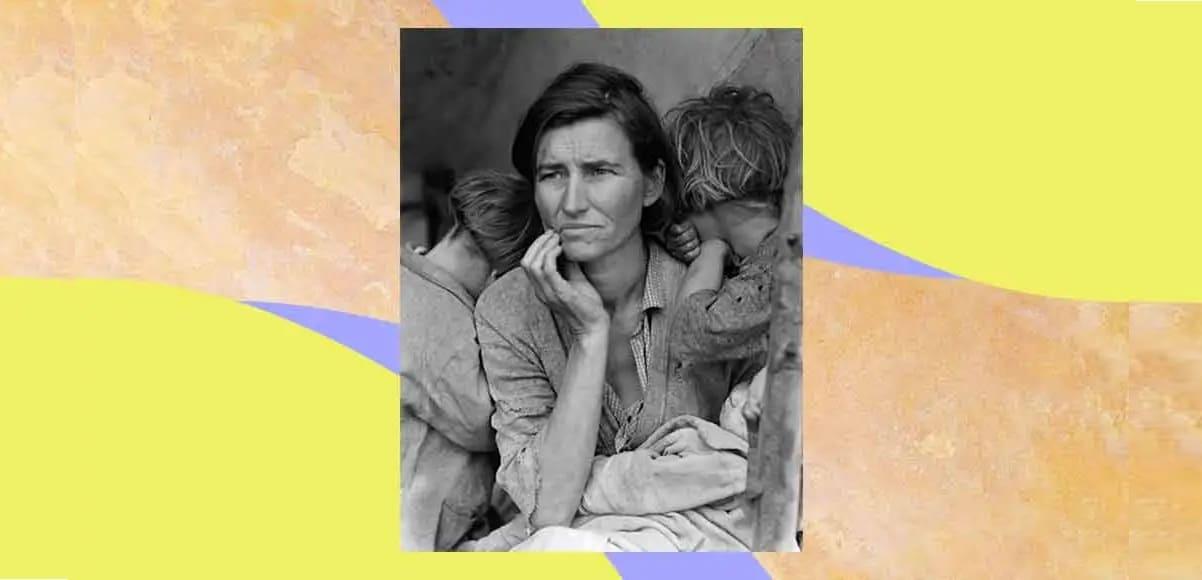"""""""La madre migrante"""", la fotografia che esprime la forza di essere madre"""