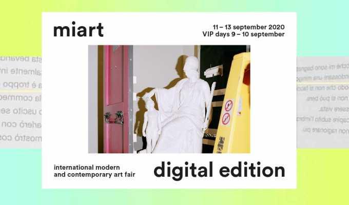 Miart, al via la prima edizione digitale