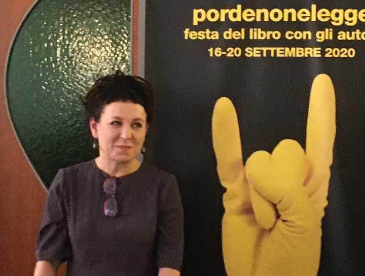 """Il premio Nobel Olga Tokarczuk, """"La letteratura dà salvezza"""""""