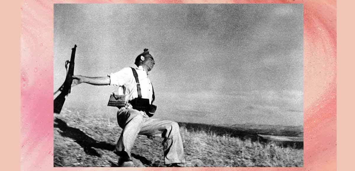 Robert Capa, la foto simbolo della sofferenza della guerra
