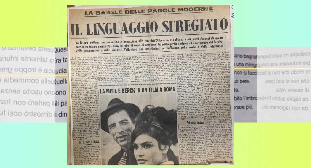 L'assalto delle parole straniere alla lingua italiana
