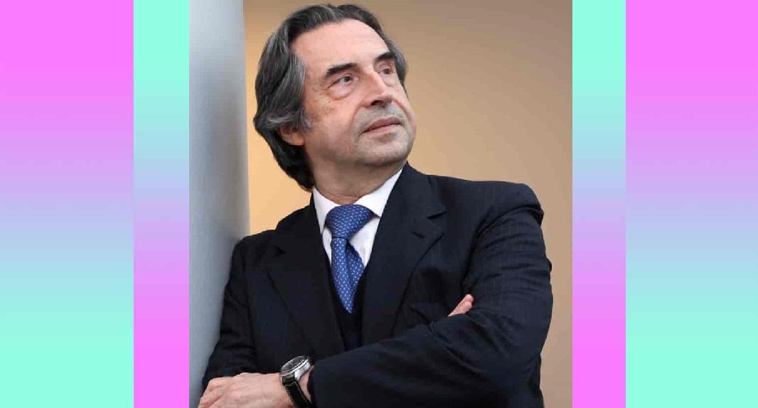 """""""Mente e spirito poveri danneggiano il corpo"""". L'appello di Riccardo Muti"""