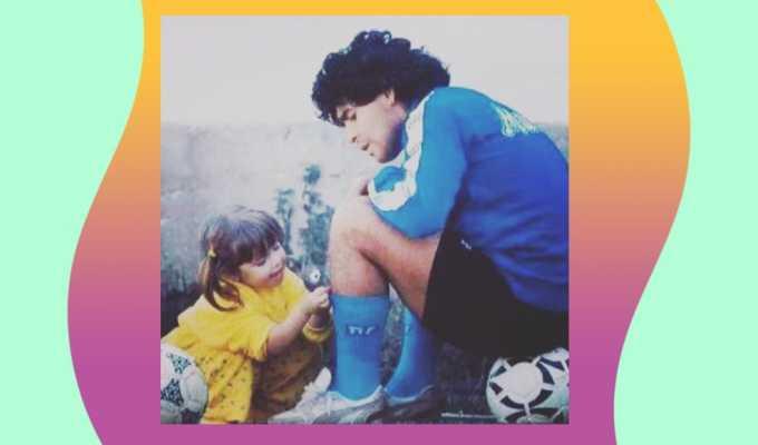 """Maradona, il saluto della figlia Dalma: """"Ti amerò e difenderò tutta la vita"""""""