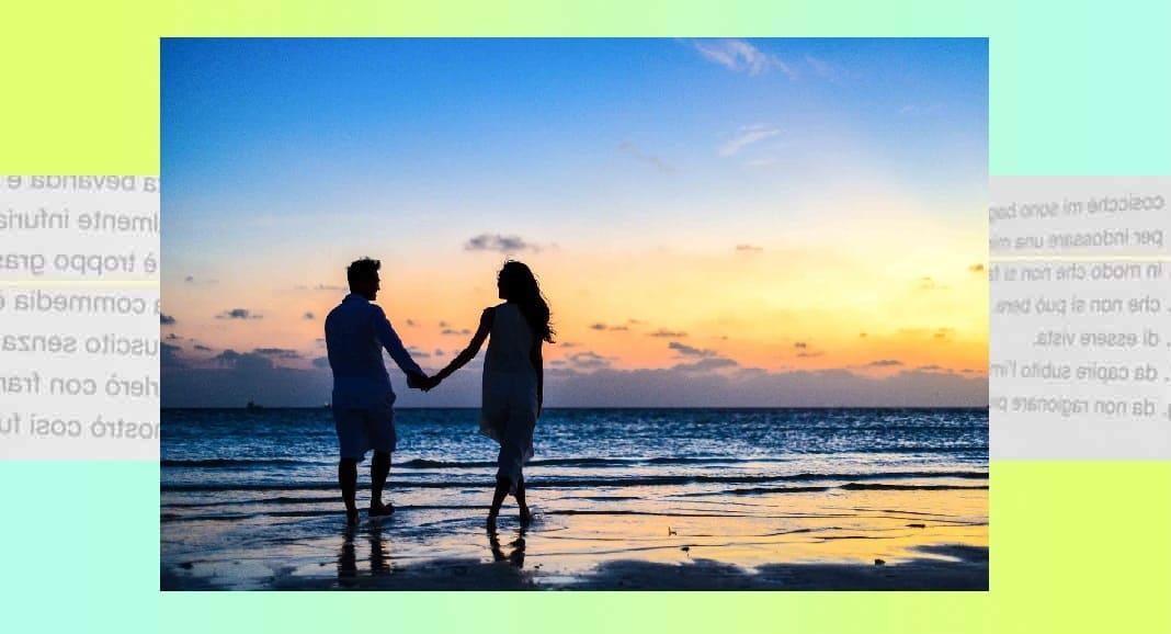"""""""Sognai che"""", la poesia di Rabindranath Tagore sulla magia di una relazione"""