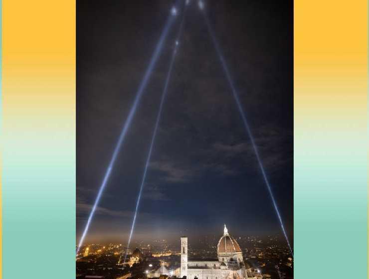 """""""I fari della resistenza"""" illuminano Firenze per tornare """"a riveder le stelle"""""""