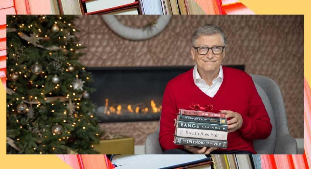 5 libri da leggere e regalare a Natale secondo Bill Gates