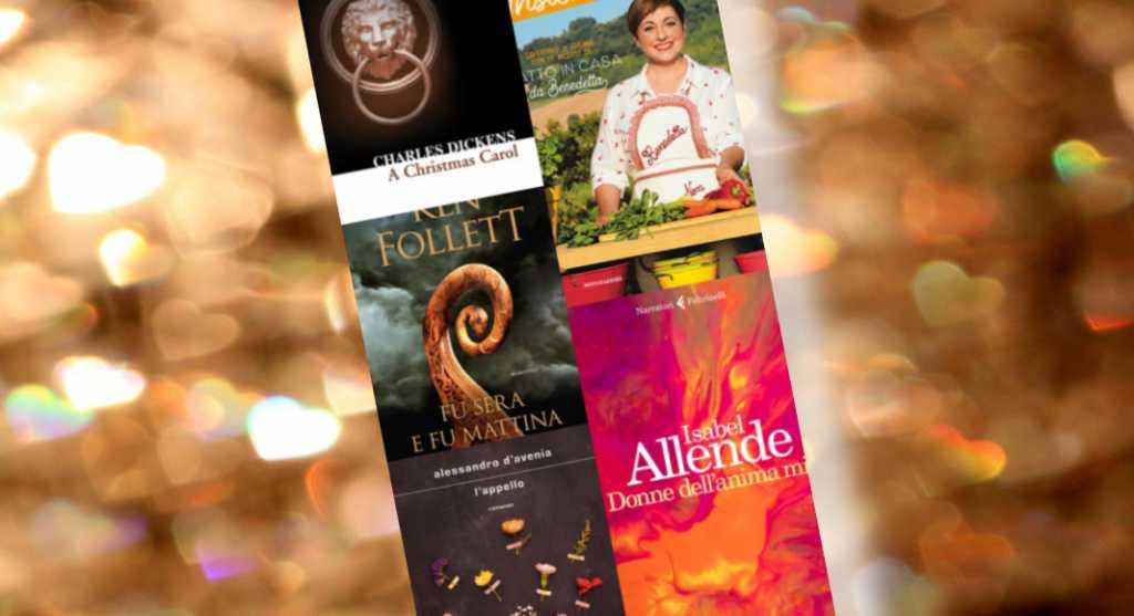 Letture sotto l'albero, i libri più regalati questo Natale