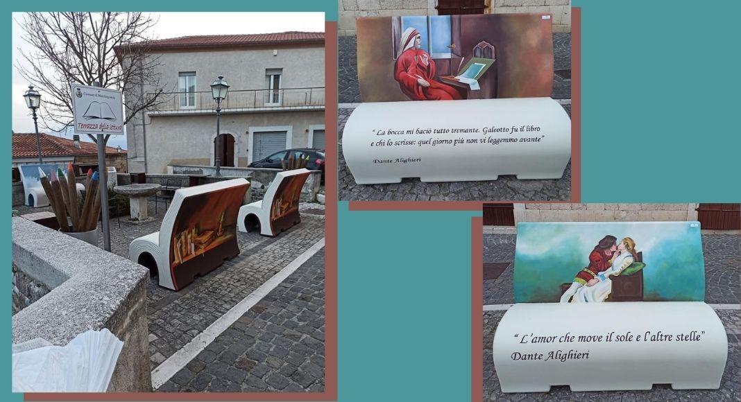 Le Panchine Letterarie in Molise, la rinascita di un borgo grazie alla cultura