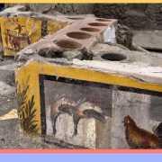 Pompei, riaffiora intatto il Termopolio della Regio V