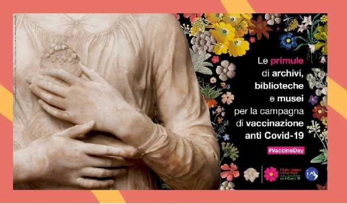 Vaccino, le primule dei musei a sostegno della campagna anti Covid