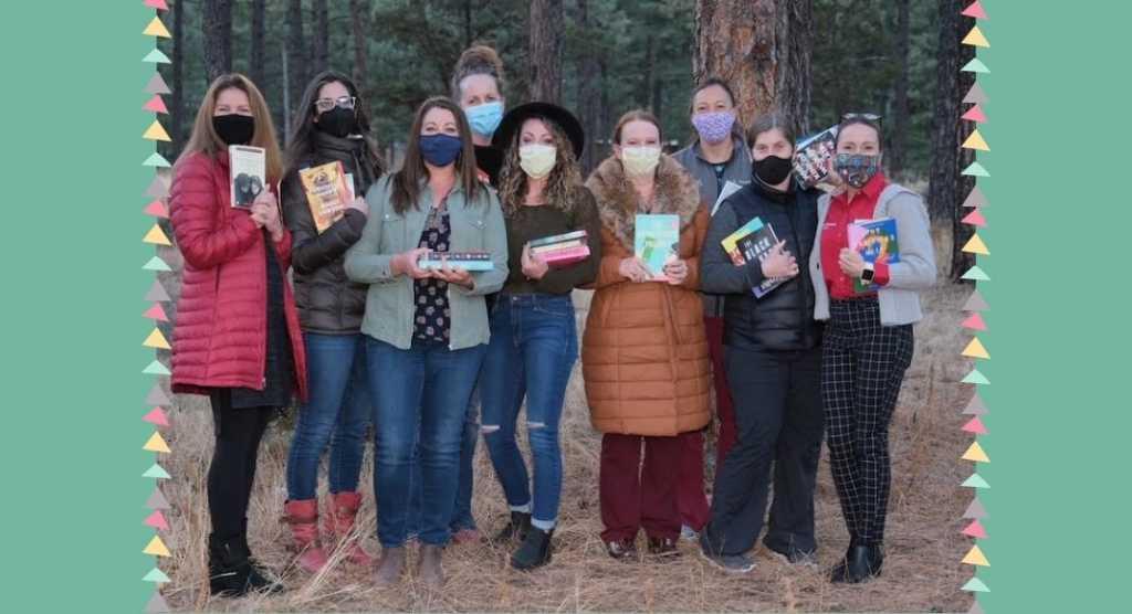 Un club del libro trasformato in una clinica di vaccinazione anti Covid-19
