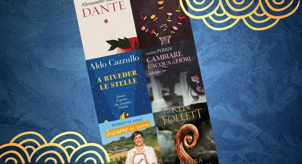 Classifica dei libri più venduti, 2 libri su Dante nei primi 4 posti