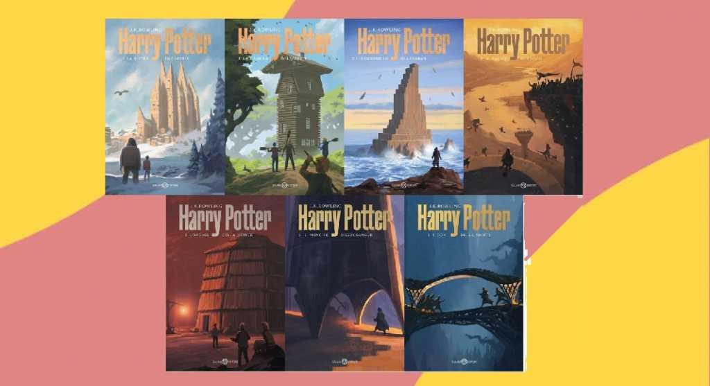 Le nuove copertine dei libri di Harry Potter firmate da Michele De Lucchi
