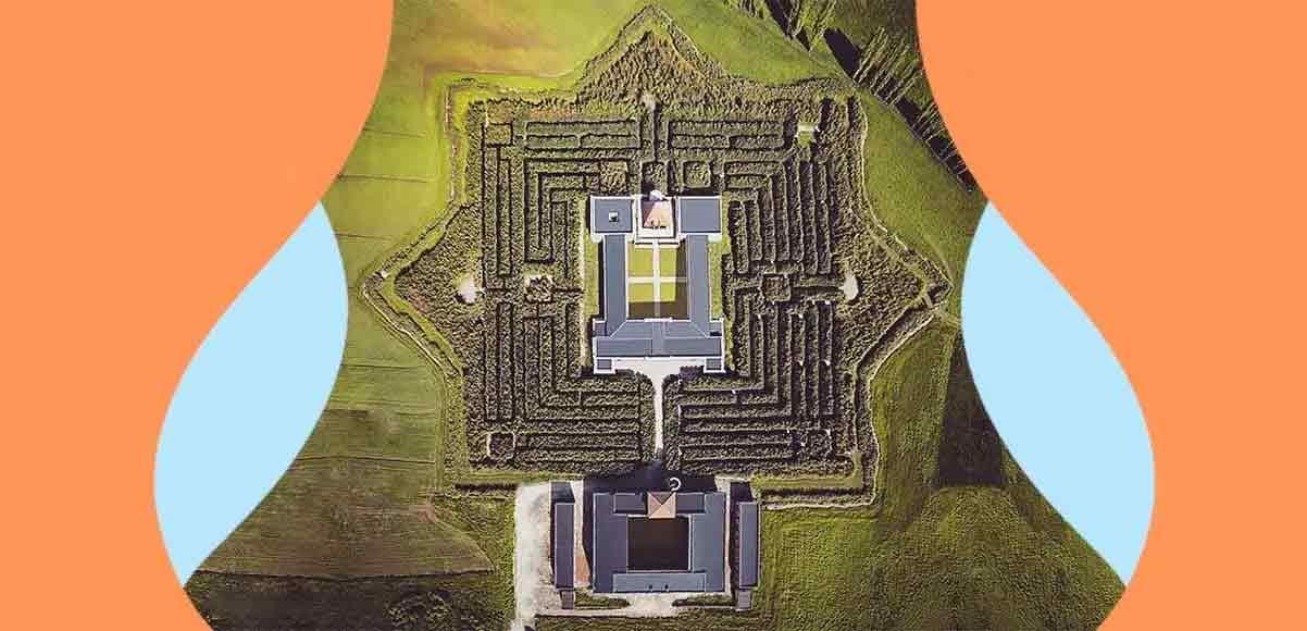 Il labirinto più grande al mondo è in Italia e si ispira a Borges