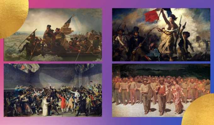 Non solo Capitol Hill: le rivolte popolari più celebri rappresentate nell'arte
