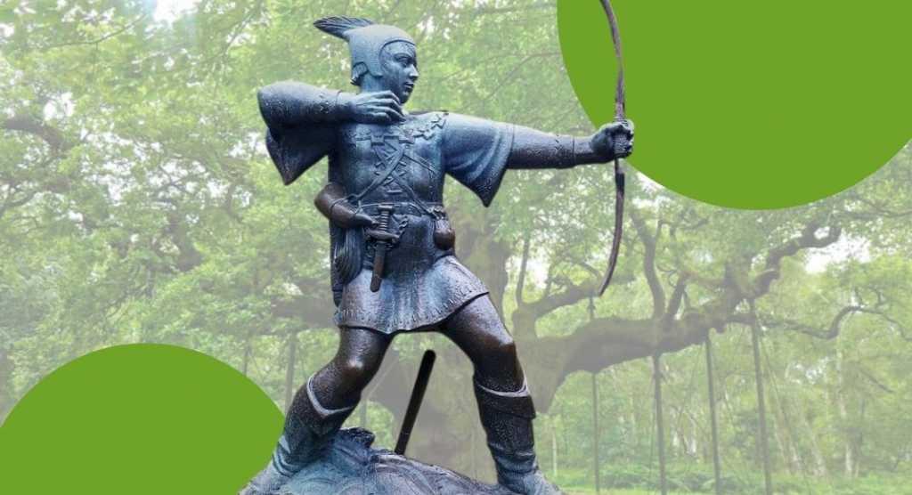Robin Hood, i luoghi della leggenda dell'opera di Alexandre Dumas