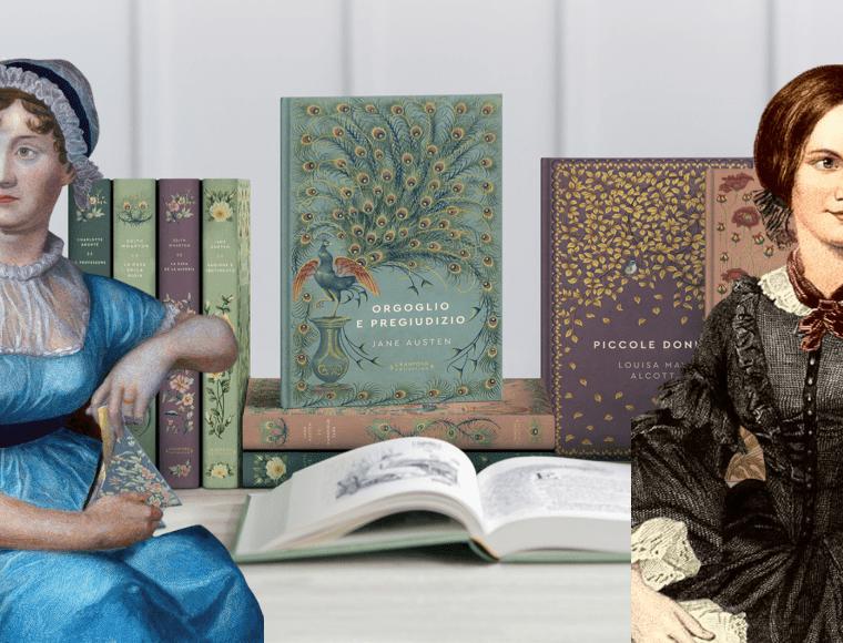 """Le autrici e le eroine femminili più amate della letteratura, protagoniste di """"Storie senza Tempo"""""""