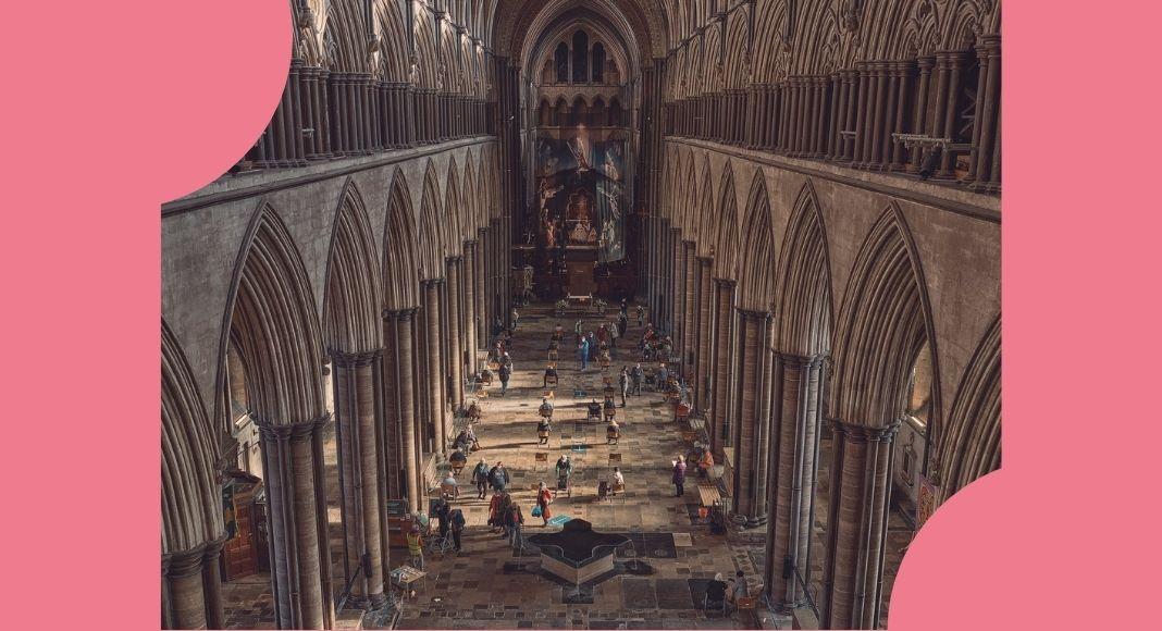 Salisbury, la cattedrale dove ci si vaccina a suon di musica