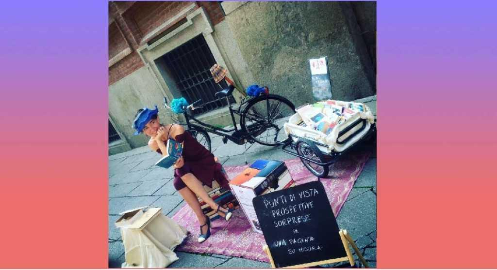 Chiara Trevisan, l'Artista di strada che leggeva le storie ai passanti