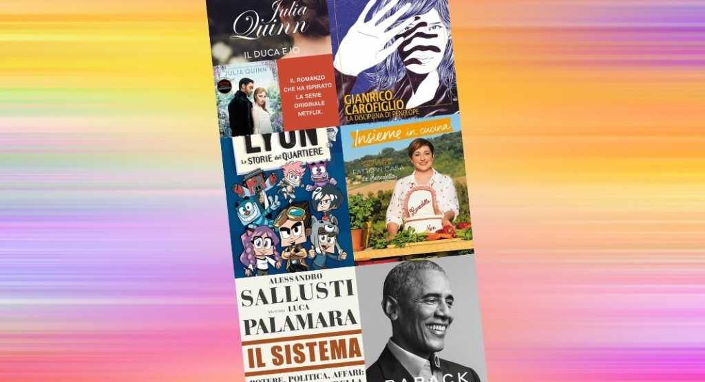 Classifica dei libri più venduti su Amazon. Sul podio Barack Obama