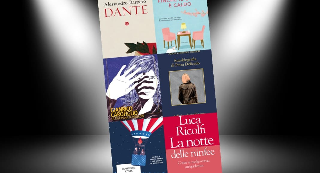 Classifica libri più venduti della settimana, Carofiglio e Costa in vetta