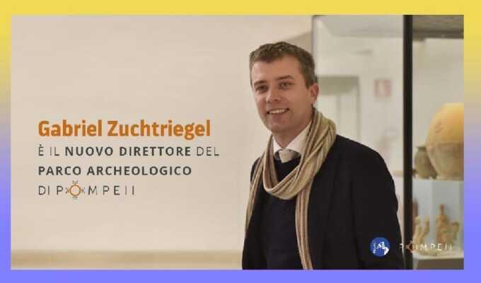 Pompei, l'archeologo tedesco Zuchtriegel nominato nuovo direttore