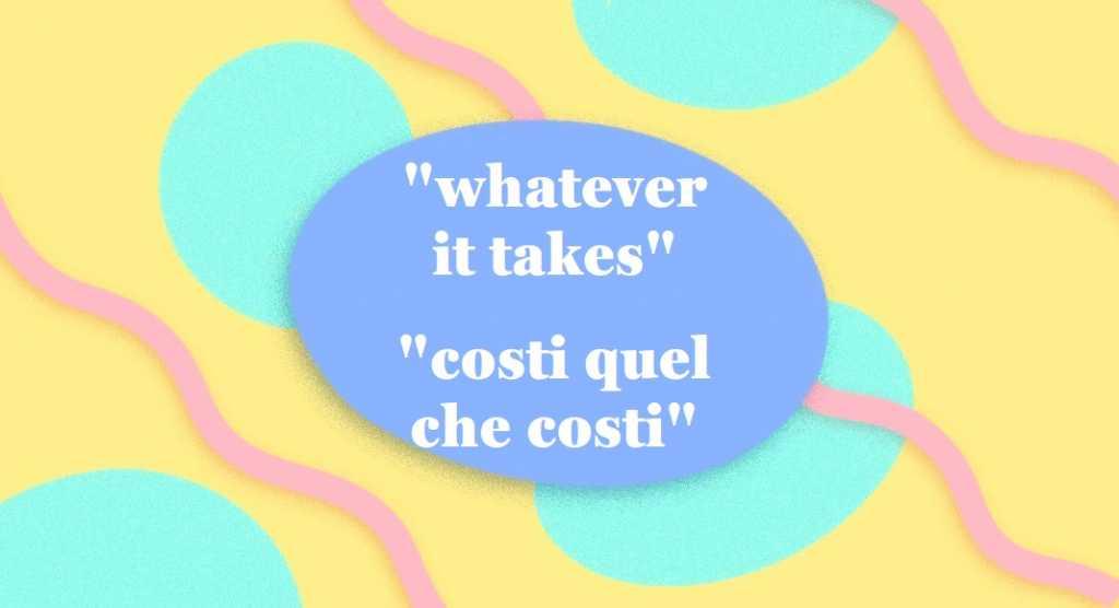 """""""Whatever it takes"""", il discorso di Mario Draghi apprezzato dalla Treccani"""