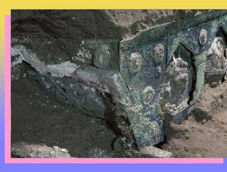 Pompei e il carro, una nuova scoperta di grande valore scientifico