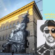La-Ferita-di-Palazzo-Strozzi-a-Firenze-lopera-di-JR