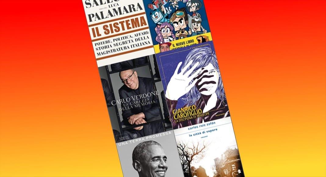 Classifica libri più venduti della settimana, sul podio la novità Carlo Verdone