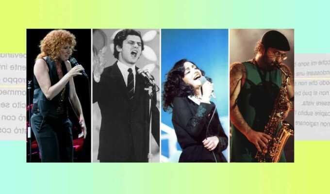 Sanremo, le 10 canzoni più poetiche della storia del Festival