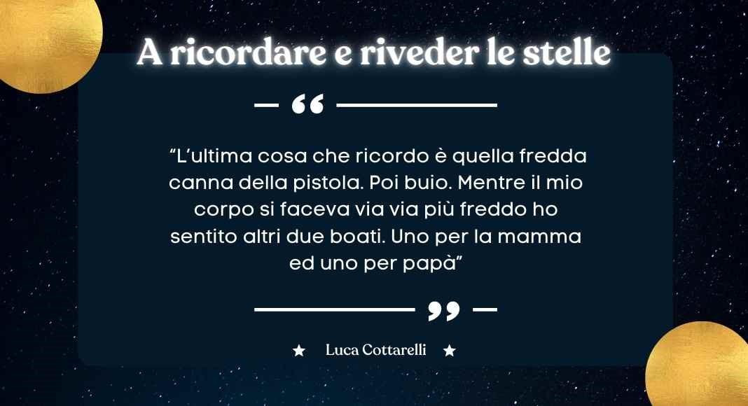 Luca Cottarelli, storia del ragazzo bresciano vittima innocente diCosa Nostra
