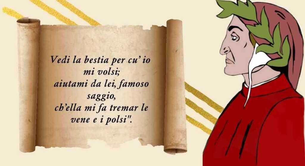 """Dante, il significato del verso """"Ch'ella mi fa tremar le vene e i polsi..."""""""