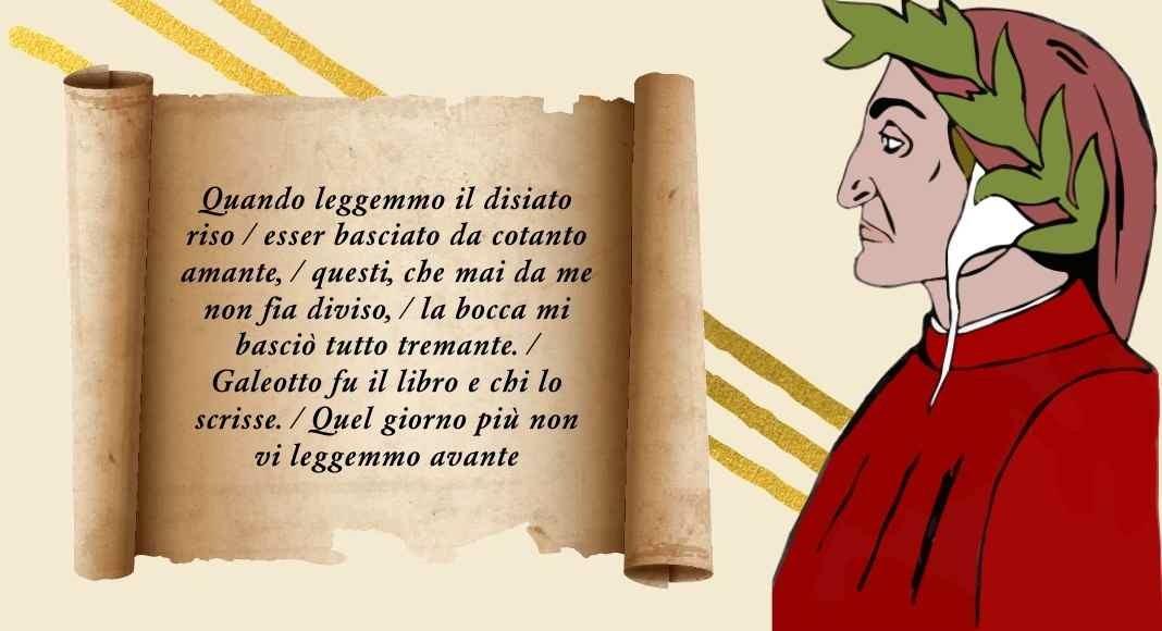 """Dante, il significato del verso """"Galeotto fu il libro e chi lo scrisse"""""""