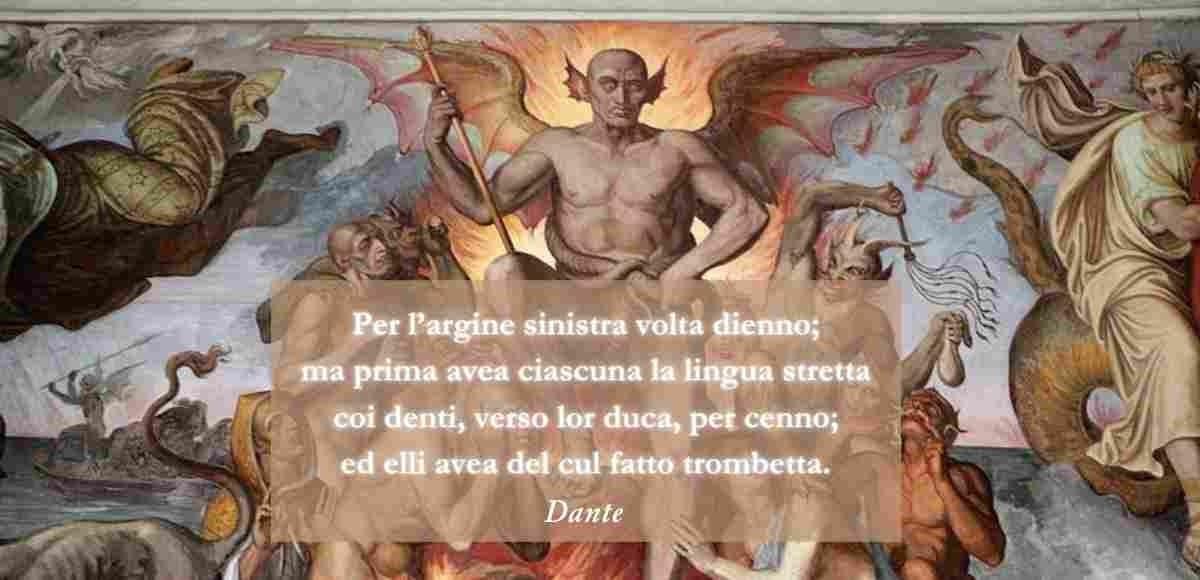 Dante, l'analisi del verso più scandaloso della Commedia
