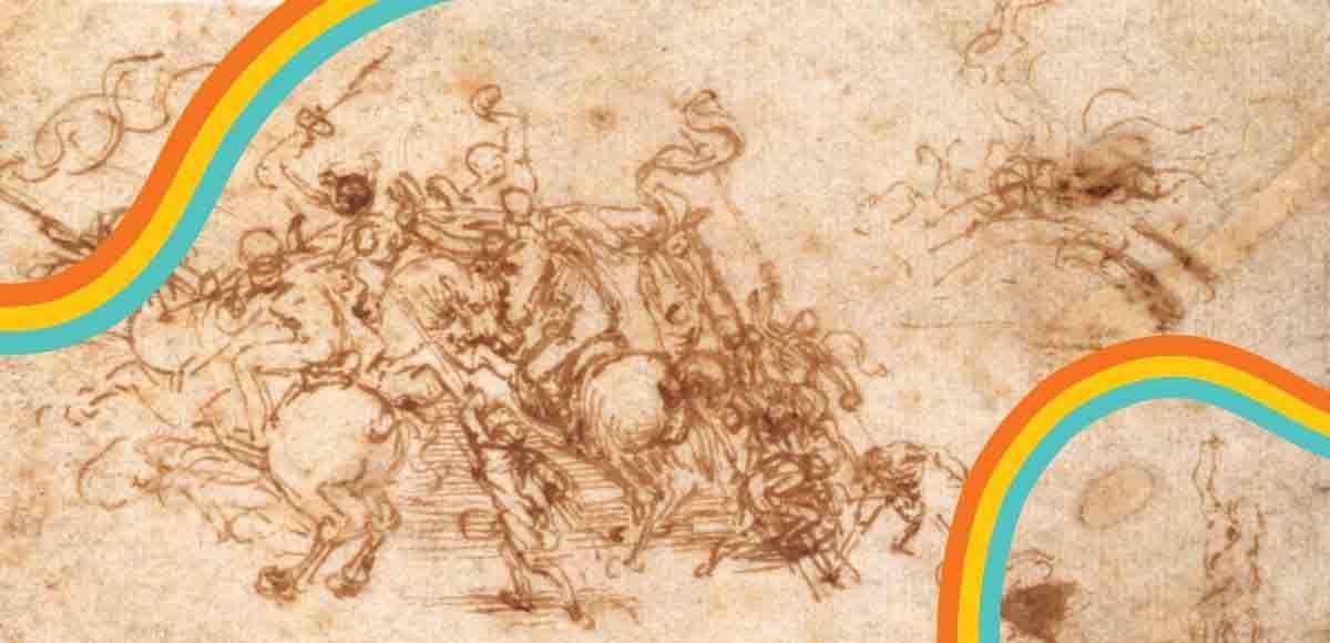 La battaglia di Anghiari, storia dell'opera di Leonardo che non fu mai dipinta