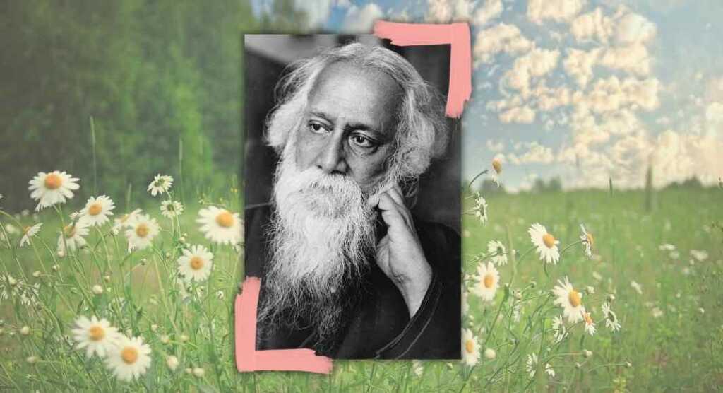 """""""Signore, io amo"""", la poesia di Tagore sulla bellezza e l'armonia della vita"""