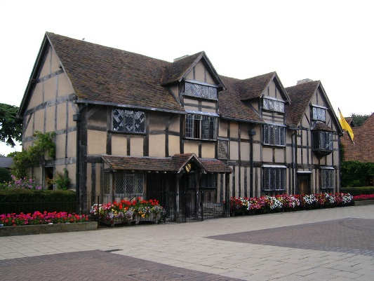 la casa di william shakespeare