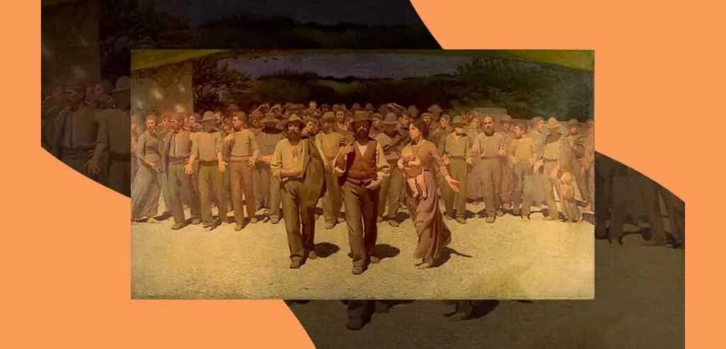 Il quarto stato, il dipinto simbolo dei lavoratori e oggi della voglia di ripartire